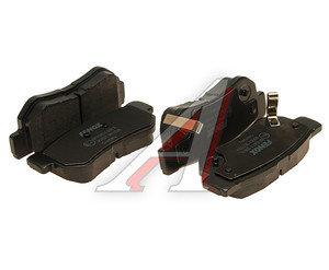 Колодки тормозные HYUNDAI Sonata 5,Getz,Tucson (04-) KIA Sportage задние (4шт.) FENOX BP43011, GDB3284, 58302-3FA00