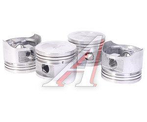 Поршень двигателя УАЗ УМЗ-421 D=100.0мм (комплект 4шт.) под газ (УМЗ) 421.1004018