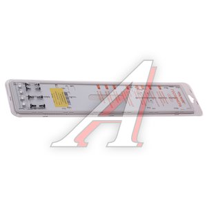 Рамка знака номерного антивандальная с силиконовым покрытием белая + крепеж 1шт. Рамка1