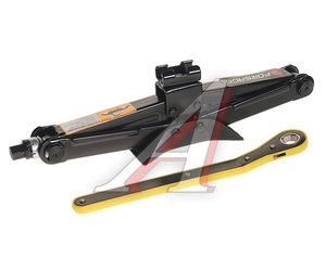 Домкрат винтовой 1.5т ромбический с трещоточной ручкой FORSAGE ST105C, FS-ST105C/A