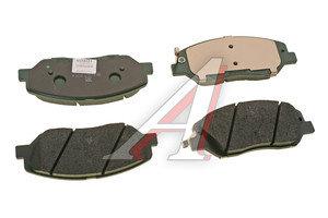 Колодки тормозные SSANGYONG Actyon (10-) передние (4шт.) OE 48130341A0