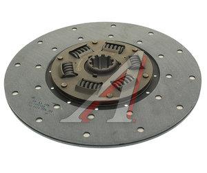 Диск сцепления ГАЗ-52 тканная накладка, усиленный ТМЗ РУБИН 52-1601130, ТМ52-1601130