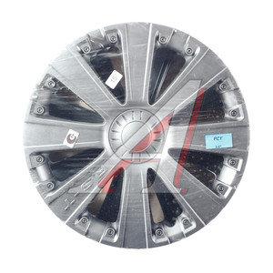Колпак колеса R-15 декоративный серый комплект 4шт. РСТ РСТ R-15
