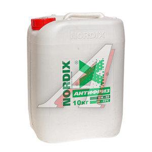 Антифриз зеленый -40С 10л NORDIX NORDIX