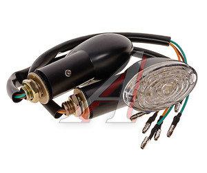 Указатель поворота на скутер задний универсальный ТИП 4 светодиод.,комплект ТИП 4, 4620757437605