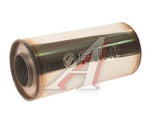 Искрогаситель универсальный L=210мм (внешн.d=100мм, внутр.d=54мм) круглый с диффузором FORTLUFT 10021054