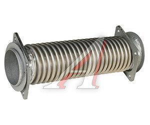 Сильфон КАМАЗ-ЕВРО-2,3 в сборе (нержавеющая сталь) L=360мм, D=80мм 54115-1203012-05, 54115-1203012-01