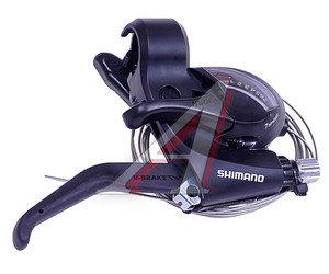 Шифтер тормозной руля правый 7 скоростей тросс 2050мм Tourney EF41 SHIMANO черный ASTEF41R7AL