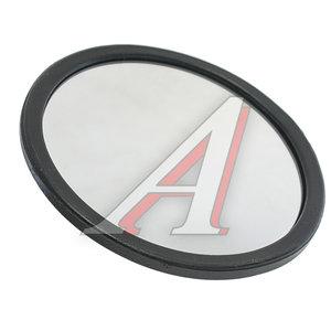 Зеркало боковое КАМАЗ,МАЗ,КРАЗ,УРАЛ широкоугольное сферическое (дополнит.) D=154мм КРУГОВОЙ ОБЗОР 603 металл.корпус
