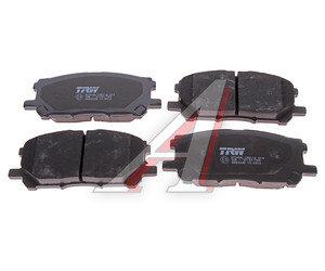 Колодки тормозные LEXUS RX300 (03-) передние (4шт.) TRW GDB3338, 04465-48080/04465-0W070