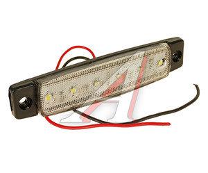 Фонарь габаритный LED 24V, белый (L=95мм, 6-светодиодов) АВТОТОРГ НК-0051/LED б