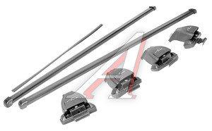 Багажник ВАЗ-2170SD L=1100 (гладкая крыша) прямоугольный сталь комплект LUX LUX L-1100, 692070