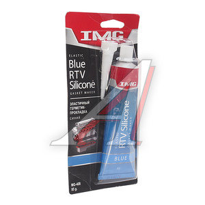 Формирователь прокладок эластичный для масленых соединений синий 85г (до +316С) IMG MG-408