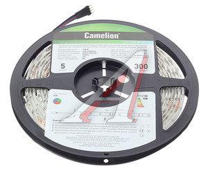 Лента светодиодная гибкая 60 LED 5м теплый белый IP65 RGB CAMELION SLW-3528-60-C99