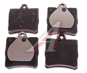 Колодки тормозные MERCEDES W202, W203, W209, W210, R171 CHRYSLER задние (4шт.) TRW GDB1335, A0024207120/0044209120/0024207420/0024207120