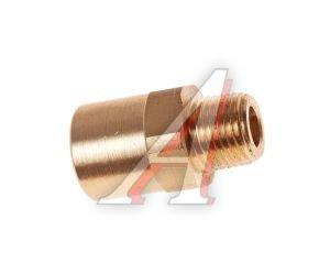 """Соединитель трубки ПВХ,полиамид d=6мм G наружный 1/8"""" прямой латунь CAMOZZI 9510 6-02"""