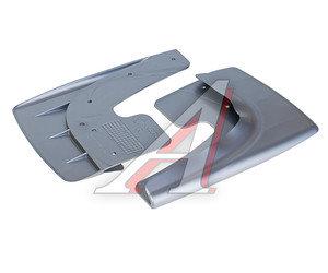 Брызговик универсальный серый комплект 2шт. AZARD БР000005, BR000005