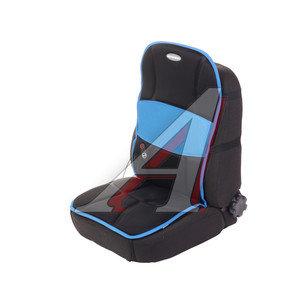 Накидка на сиденье массажная с подогревом Релакс 12V черно-синяя AUTOPROFI MAS-300 BK/BL