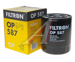 Фильтр масляный HYUNDAI Terracan (01-),Starex H-1 (97-),Porter KIA MITSUBISHI (D/TD) FILTRON OP587, OC274