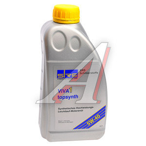 Масло моторное SRS VIVA 1 TOPSYNTH синт.1л SRS SAE5W40, 7215