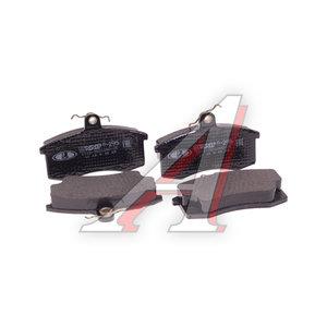 Колодки тормозные ВАЗ-1118,2170 передние (4шт.) (АБС) в упаковке АвтоВАЗ 1118-3501800-83, 11180350180083