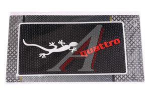 Коврик на панель приборов противоскользящий 14х26 Qattro TYPE-R DA-14х26 Q