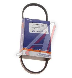 Ремень приводной поликлиновой 3PK665 CHEVROLET Spark (98-08) DAEWOO 96568068, 3PK665