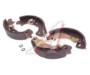Колодки тормозные PEUGEOT 106 задние (4шт.) TRW GS8271, 4241.E7