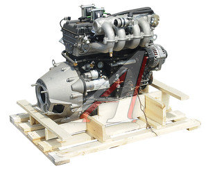 Двигатель ЗМЗ-40620D ГАЗ-3110 под насос ГУР,кондиционер, АИ-92 145 л.с. № ЗМЗ 4062.1000400-60, 4062-01-0004000-60