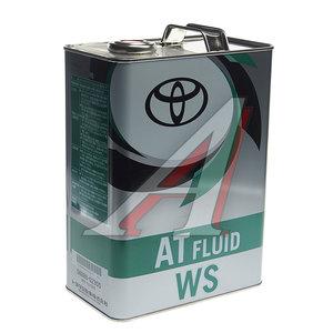 Масло трансмиссионное ATF для АКПП WS 4л TOYOTA 08886-02305, TOYOTA ATF