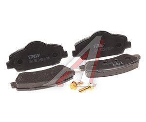 Колодки тормозные PEUGEOT 308 (13-) передние (4шт.) TRW GDB1992, LP2485, 1608691380