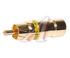 Разъем кабельный RCA 8мм BELSIS BELSIS BW2559-б,