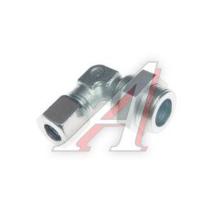 Штуцер соединительный угловой М22х10мм (фитинг резьбовой) сталь HALDEX 03240510222, 0518304412