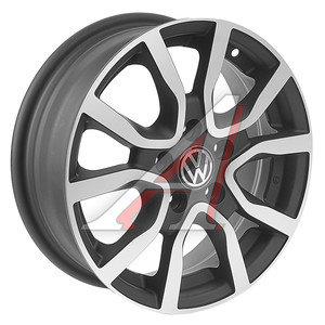 Диск колесный литой VW Polo Sedan R14 VW67 MBFP REPLICA 5х100 ЕТ35 D-57,1