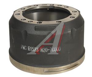 Барабан тормозной HYUNDAI HD170,260,270,370,450,500 задний (R1523) VALEO PHC R1523, 52761-7C000