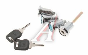Личинка ГАЗ-2705 замка двери комплект 4шт.Н/О в сборе 3302-6505080/6425080
