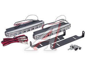 Огни ходовые дневного света LED 8 светодиодов 12V 12V-8