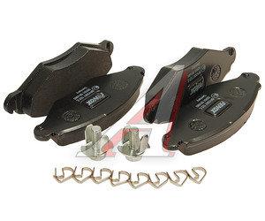 Колодки тормозные PEUGEOT 206,206SW (01-) передние (без АБС) (4шт.) FENOX BP43067, GDB1500, 4253.03
