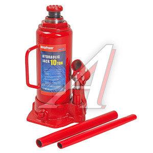 Домкрат бутылочный 10т 230-460мм MEGAPOWER M-91003