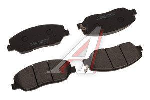 Колодки тормозные HYUNDAI Santa Fe (06-) передние (4шт.) HANKOOK FRIXA FPK29, 58101-2BA00