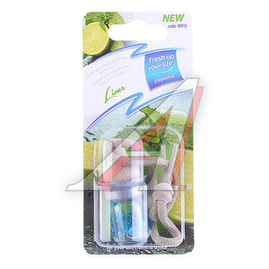 Ароматизатор подвесной жидкостный (лайм) 5мл KREDO W015