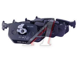 Колодки тормозные BMW X3 (E83),X5 (E53),E46 (2.5/3.0) задние (4шт.) OE 34213403241, GDB1530