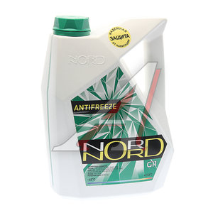 Антифриз зеленый -40С 5кг NORD NORD, 79091