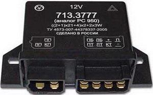 Реле поворота ЗИЛ,УАЗ,ПАЗ (аналог РС 950) ЭМ 713.3777, 713.3777 (аналог РС 950), РС950