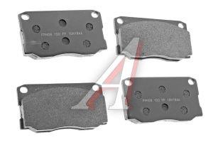 Колодки тормозные HYUNDAI HD65,72,County дисковые передние (4шт.) HANKOOK FRIXA FPH08, 58101-5HA30