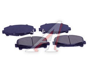Колодки тормозные HONDA Accord 9 (АКПП) (08-) (2.0/2.4) передние (4шт.) SANGSIN SP1606, GDB3477