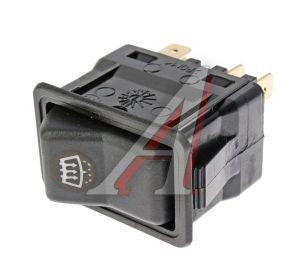 Выключатель клавиша ГАЗ-3110 обогрева переднего стекла АВТОАРМАТУРА 82.3709-01.25