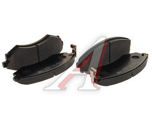 Колодки тормозные HYUNDAI Grandeur (92-98) KIA Joice (99-00) передние (4шт.) HSB HP0010, 2172501, 58101-39A20