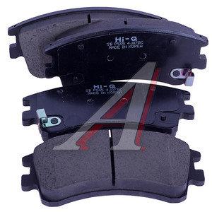 Колодки тормозные MAZDA 6 (GG) (02-07) (2.0/2.3) передние (4шт.) SANGSIN SP1518, GDB3310