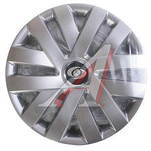 Колпак колеса R-15 декоративный серый комплект 4шт. универсальный 315 R-15